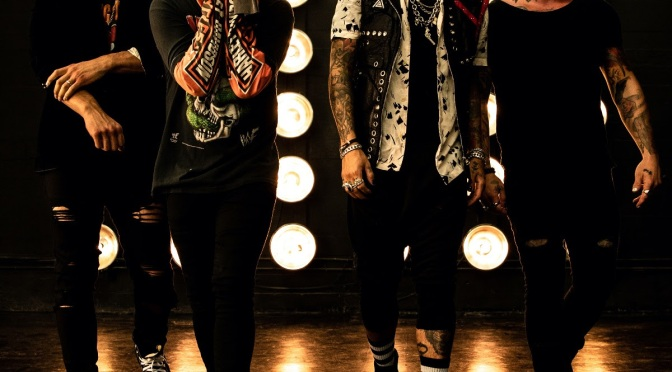"""Escape the Fate Share New Song """"Not My Problem"""" Feat. Travis Barker"""