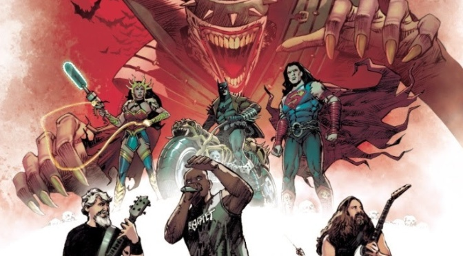 SEPULTURA & More turned into comic heroes for DC's Dark Nights: Death Metal series