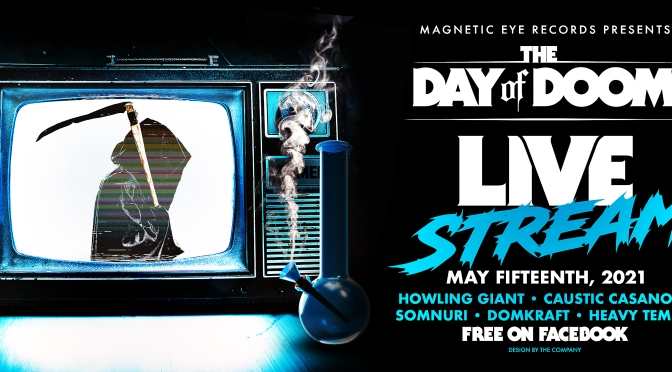 Magnetic Eye Records announce Day of Doom Livestream