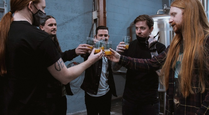 """BLEED FROM WITHIN Launch """"FRACTURE"""" Beer + Announce Supports For November 2021 Tour"""