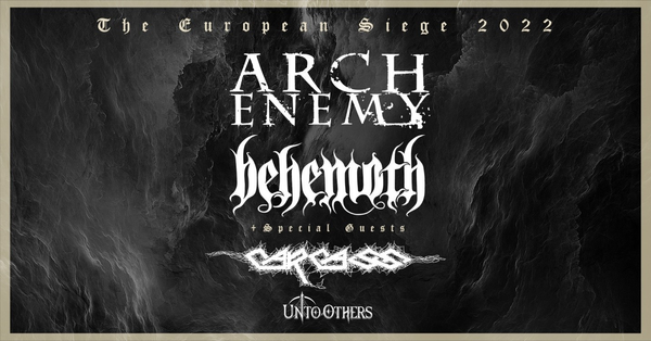 ARCH ENEMY Co-Headlining Tour with BEHEMOTH postponed to Autumn 2022